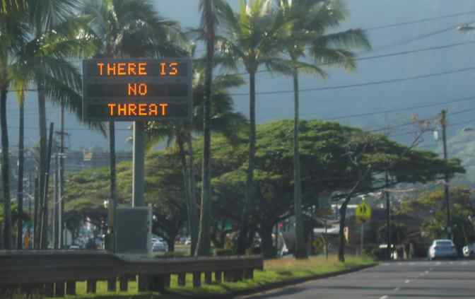 EVIDENCE MOUNTS THAT ALARM IN HAWAII WAS A FALSE FLAG – THINGS ARE GETTING REAL AS DISTRACTIONS GROW