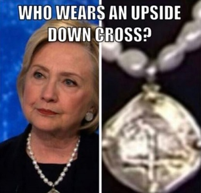 hillary-clintons-upside-down-cross-pendant