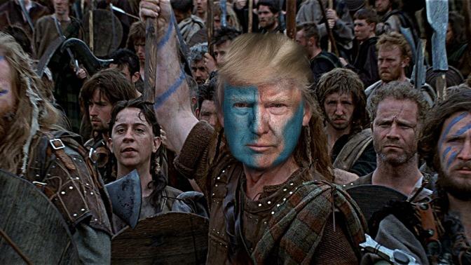 Trump vs Fake News: Braveheart
