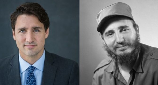 Cuba Claims Justin Trudeau Is Fidel Castro's Son (What the Heck is going on??)